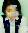 KEEP CALM AND Love Sunderiya - Personalised Poster A4 size