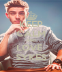 KEEP CALM AND LOVE  SYKES - Personalised Poster A4 size
