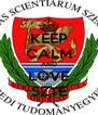 KEEP CALM AND LOVE SZTE - Personalised Poster A4 size
