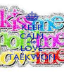 KEEP CALM AND LOVE TAEKWON - Personalised Poster A4 size