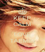 KEEP CALM AND LOVE TAEMIN - Personalised Poster A4 size