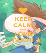 KEEP CALM AND LOVE TAICHI - Personalised Poster A4 size