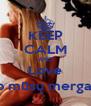 KEEP CALM AND Love Tarp mūsų mergaičių - Personalised Poster A4 size