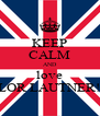 KEEP CALM AND love TAYLOR LAUTNER!! xxx - Personalised Poster A4 size