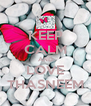 KEEP CALM AND LOVE THASNEEM - Personalised Poster A4 size