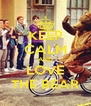 KEEP CALM AND LOVE THE BEAR - Personalised Poster A4 size