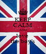 KEEP CALM AND love  the boy's - Personalised Poster A4 size