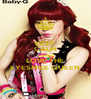 KEEP CALM AND LOVE THE EYESMILE QUEEN - Personalised Poster A4 size