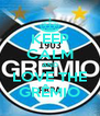 KEEP CALM AND LOVE THE GRÊMIO - Personalised Poster A4 size