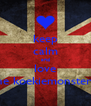 keep calm and love the koekiemonster!! - Personalised Poster A4 size