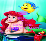 KEEP CALM AND LOVE THE LITTLE MERMAID - Personalised Poster A4 size