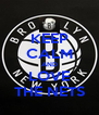 KEEP CALM AND LOVE THE NETS - Personalised Poster A4 size