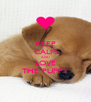 KEEP CALM AND LOVE THE PUPPY - Personalised Poster A4 size