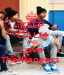 KEEP CALM AND Love The Rangers  - Personalised Poster A4 size