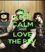 KEEP CALM AND LOVE THE REV - Personalised Poster A4 size