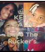 KEEP CALM AND Love The Rucker's - Personalised Poster A4 size
