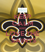 KEEP CALM AND LOVE THE  SAINTS - Personalised Poster A4 size