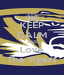 KEEP CALM AND Love The Tigers - Personalised Poster A4 size
