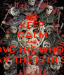 KEEP CALM AND LOVE THE WHOLE FRIDAY THE 13TH SERIES - Personalised Poster A4 size