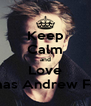 Keep Calm and Love Thomas Andrew Felton - Personalised Poster A4 size