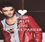 KEEP CALM AND LOVE  THOMAS PARKER - Personalised Poster A4 size