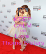 KEEP CALM AND Love  Thorne Sisters - Personalised Poster A4 size