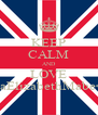 KEEP CALM AND LOVE TiaElizabethMabe<3 - Personalised Poster A4 size