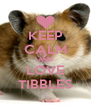 KEEP CALM AND LOVE TIBBLES - Personalised Poster A4 size