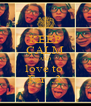KEEP CALM AND love to  Fer  :3 - Personalised Poster A4 size