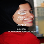 KEEP CALM AND LOVE  TOKKAMAMDOUH - Personalised Poster A4 size