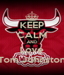 KEEP CALM AND Love Tom Johnston - Personalised Poster A4 size