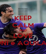 KEEP CALM AND LOVE TONI e AQUILANI - Personalised Poster A4 size