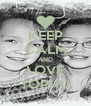 KEEP CALM AND LOVE TOPHU - Personalised Poster A4 size