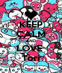 KEEP CALM AND LOVE  Tori - Personalised Poster A4 size