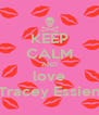 KEEP CALM AND love Tracey Essien - Personalised Poster A4 size