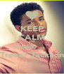 KEEP CALM AND Love ..♥ Trevor Jackson - Personalised Poster A4 size