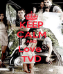 KEEP CALM AND Love  TVD - Personalised Poster A4 size