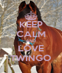 KEEP CALM AND LOVE TWINGO - Personalised Poster A4 size