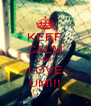 KEEP CALM AND LOVE UMI!! - Personalised Poster A4 size
