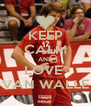 KEEP CALM AND LOVE  VAN WALLE - Personalised Poster A4 size
