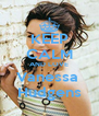 KEEP CALM AND LOVE Vanessa  Hudgens - Personalised Poster A4 size
