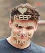 KEEP CALM AND LOVE  VIAM  - Personalised Poster A4 size