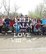 "KEEP CALM AND LOVE  VIII "" A "" - Personalised Poster A4 size"