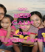 KEEP CALM AND Love Villamor Family - Personalised Poster A4 size