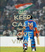 KEEP CALM AND LOVE VIRAT - Personalised Poster A4 size