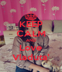 KEEP CALM AND Love Vladuta' - Personalised Poster A4 size