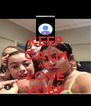 KEEP CALM AND LOVE VOBP - Personalised Poster A4 size