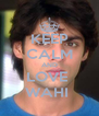 KEEP CALM AND LOVE  WAHI  - Personalised Poster A4 size