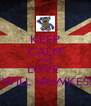 KEEP CALM AND LOVE  !!!WILL HAWKES!!! - Personalised Poster A4 size