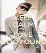KEEP CALM AND LOVE WOOYOUNG - Personalised Poster A4 size
